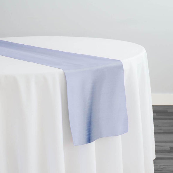 Crystal Organza Table Runner in Blue D 124