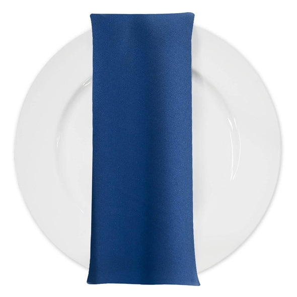 Premium Polyester (Poplin) Table Napkin in Blue Slate 1776