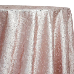 Flora Rose Table Linen in Blush