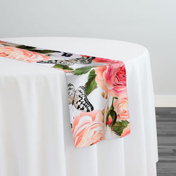 Blush Bouquet (Poly Print) Table Runner