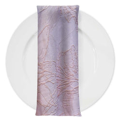 Floral Reef Jacquard Table Napkin in Blush