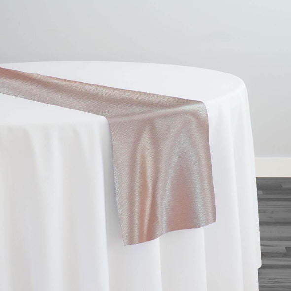 Luxury Satin Table Runner in Blush