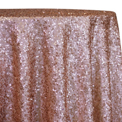 Taffeta Sequins Table Linen in Blush