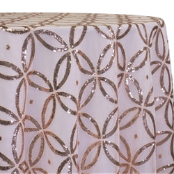 Delano Sequins Table Linen in Blush