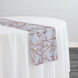 Brooks Sequins Table Runner in Blush