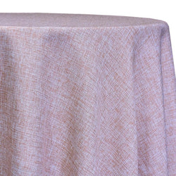 Imitation Burlap (100% Polyester) Table Linen in Blush