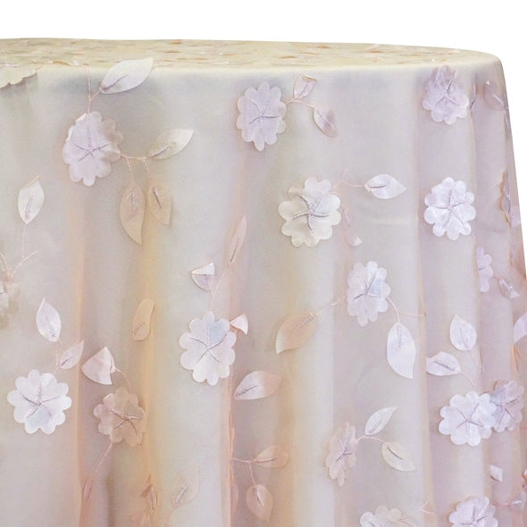 Lily Petal Table Linen in Blush