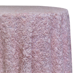 Lush Chiffon Table Linen in Blush