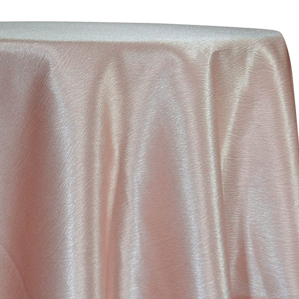 Luxury Satin Table Linen in Blush