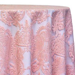 Princess Lace Table Linen in Blush