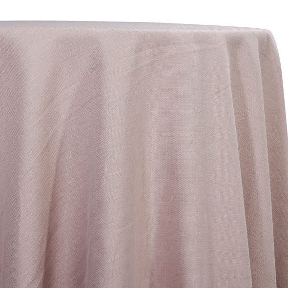 Rustic Linen Table Linen in Blush