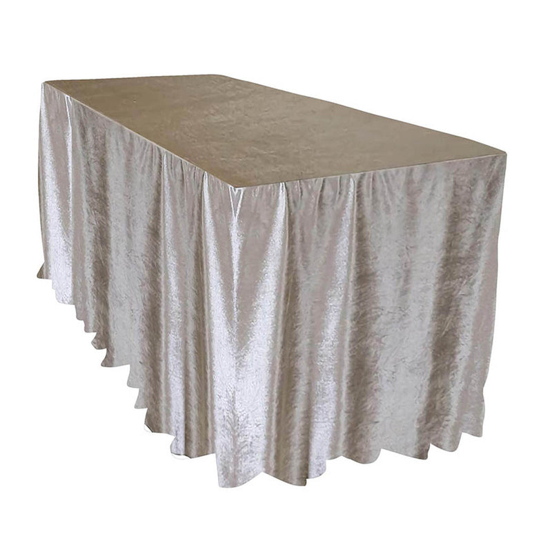 Lush Velvet Banquet Fitted Tablecloths - Hospitality Line