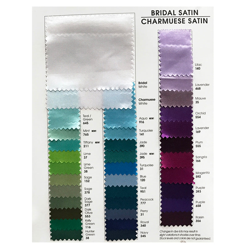 Bridal Satin Table Napkin in Raisin 356
