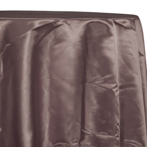 Bridal Satin Table Linen in Brown 266