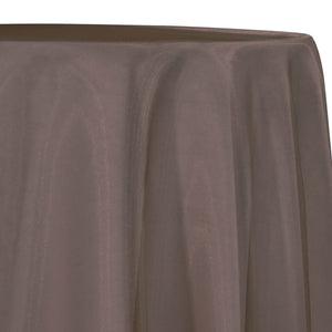 Crystal Organza Table Linen in Brown 266