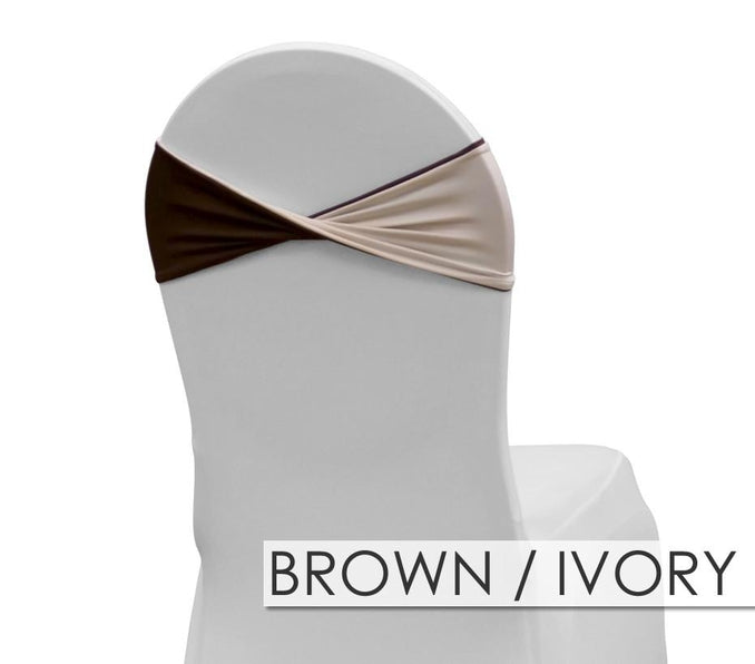 BROWN/IVORY