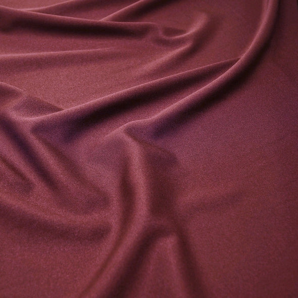 Scuba (Wrinkle-Free) Table Runner in Burgundy 405