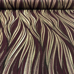 Allure Jacquard Table Napkin in Burgundy 1