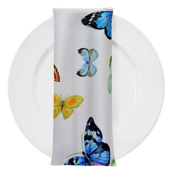 Butterfly (Poly Print) Table Napkin