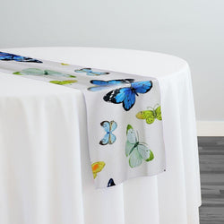 Butterfly (Poly Print) Table Runner