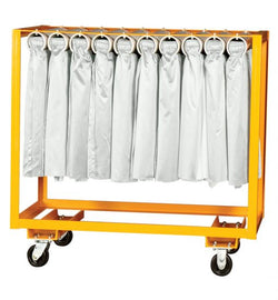 Table Skirt Cart - Single Rack