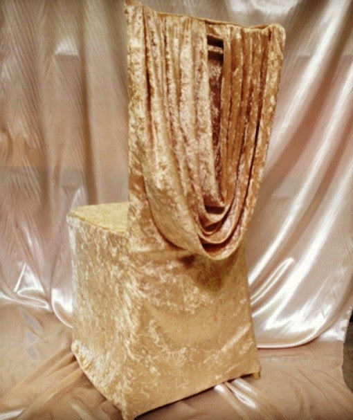 Venice Velvet Chair Cover