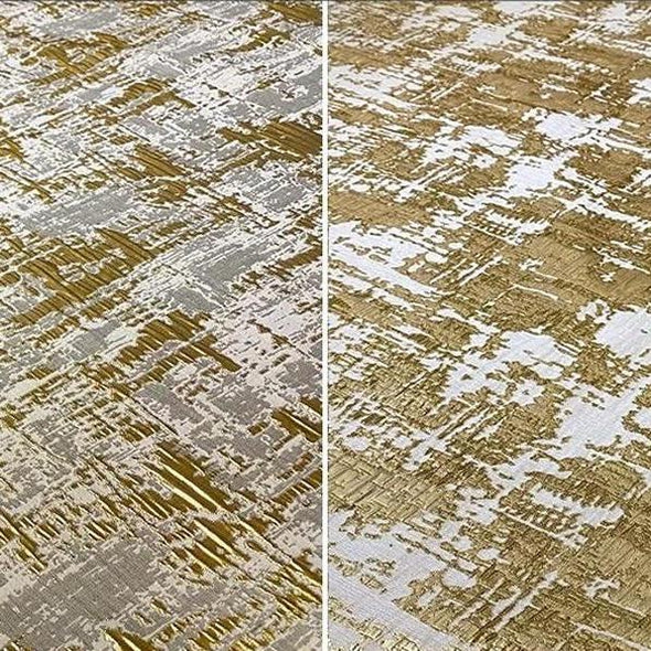 Calypso Jacquard (Reversible) Wholesale Fabric in Gold