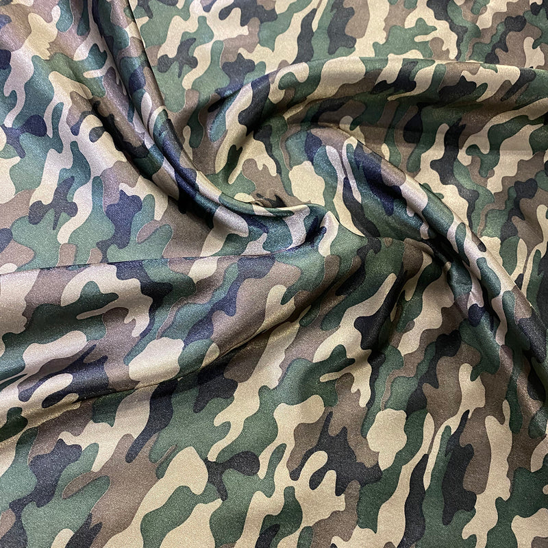 Camo (Satin Print) Table Napkin