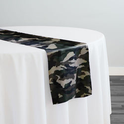 Camo Print Table Runner