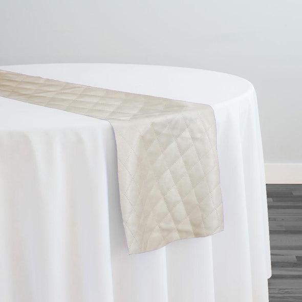 Murano Quilt Table Runner in Champagne