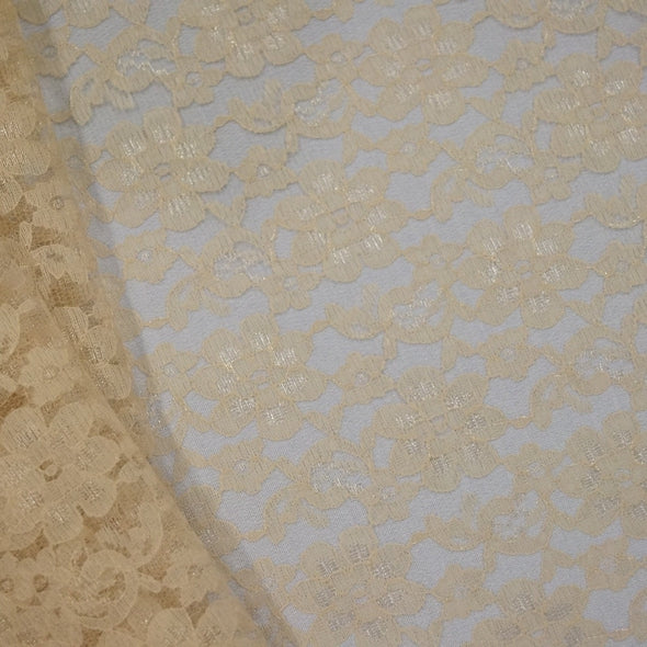 Classic Lace Table Runner in Champagne 1341