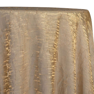 Crush Shimmer (Galaxy) Table Linen in Champagne 14