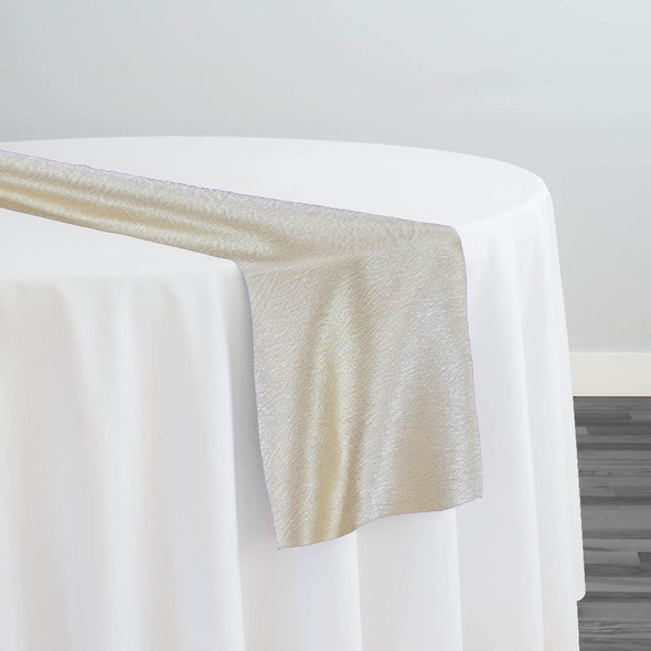 Luxury Satin Table Runner in Champagne