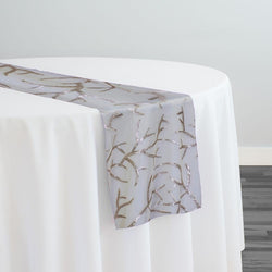 Brooks Sequins Table Runner in Champagne