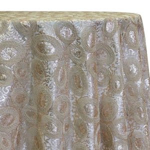Sienna Design Table Linen in Champagne
