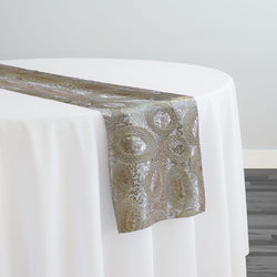 Sienna Design Table Runner in Champagne