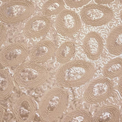 Sienna Design (w/ Poly Lining) Table Napkin in Champagne