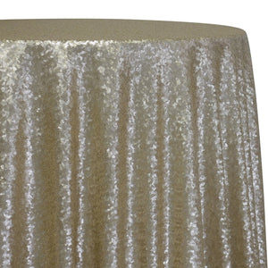 Glitz Sequins Table Linen in Champagne