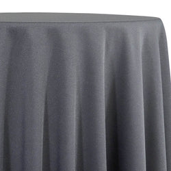 Premium Poly (Poplin) Table Linen in Charcoal 1480