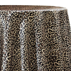 Animal Print Table Linen in Cheetah