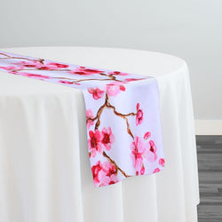 Cherry Blossom (Poly Print) Table Runner