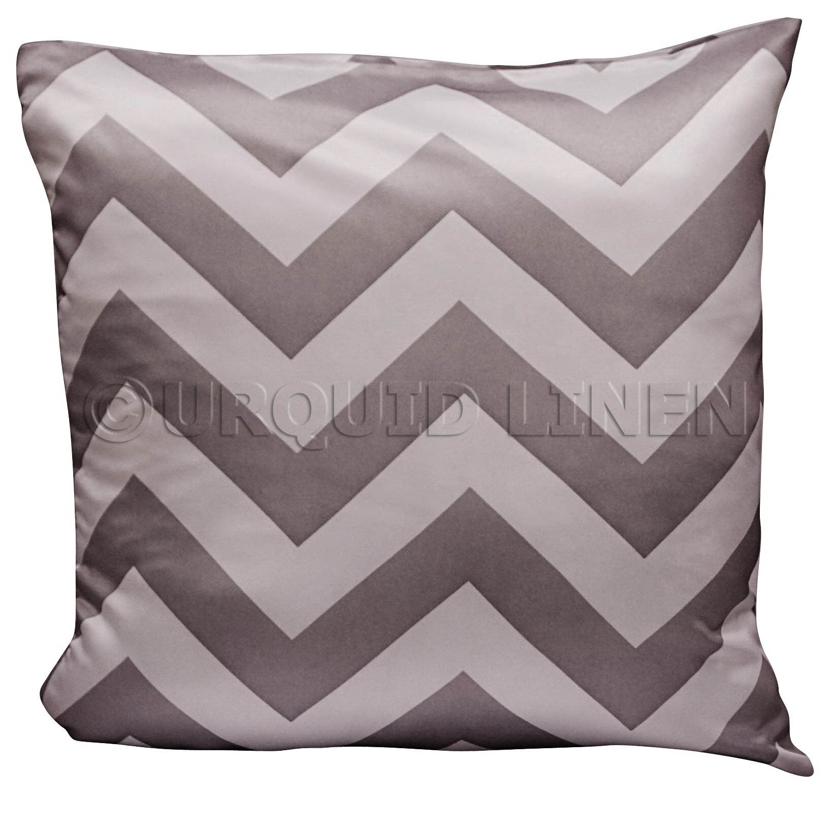Chevron Print (Lamour) Throw Pillow