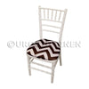 Chevron Print (Lamour) - Chair Pad