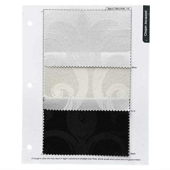 Chopin Jacquard Table Napkin in White