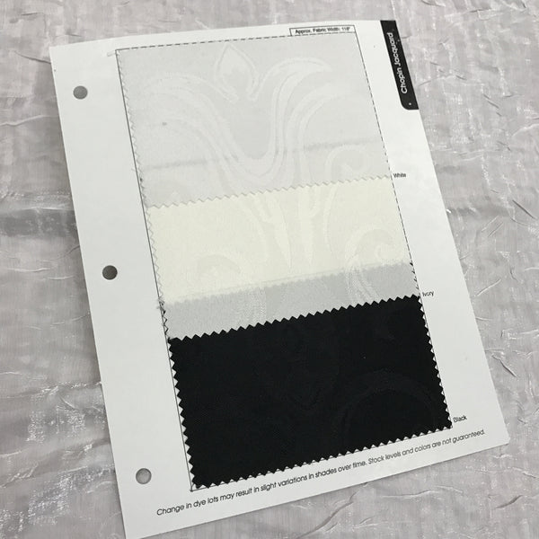 Chopin Jacquard Color Card