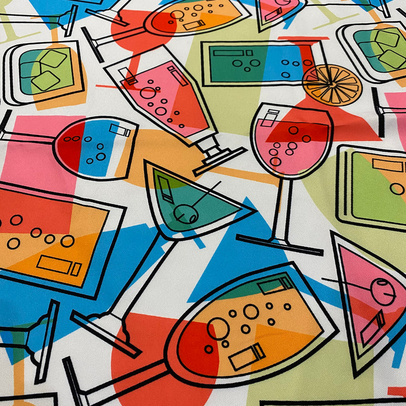 Cocktails (Poly Print) Table Napkin