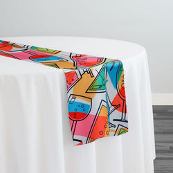Cocktails (Poly Print) Table Runner
