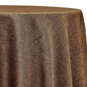 Imitation Burlap (100% Polyester) Table Linen in Coffee