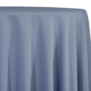 Dusty Blue Tablecloth in Polyester for Weddings