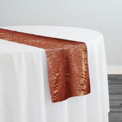 Crush Shimmer (Galaxy) Table Runner in Copper 17